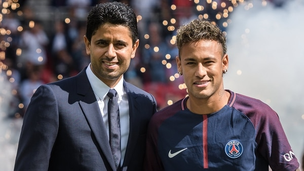 Nasser Al Khelaifi le abriría la puerta de salida a Neymar solamente en caso de ganar la Champions League (EFE)