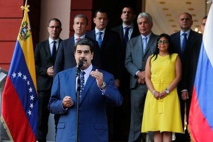 El dictador venezolano Nicolás Maduro. Foto: Reuters