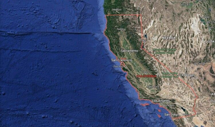 El sismo fue superior al que se registró el jueves