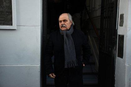 El intendente de Ezeiza, Alejandro Granados. (Nicolás Stulberg)