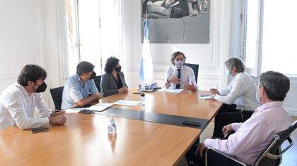 La reunión entre los representantes de la Nación, CABA y PBA