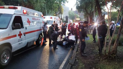 La mañana del viernes, vecinos de Paseos de la Reforma reportaron una fuerte balacera (Foto: Twitter/Delta25MX)