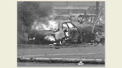 El atentado y muerte del empresario Francisco Soldati