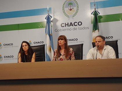 La ministra de Salud de Chaco, Paola Benitez.