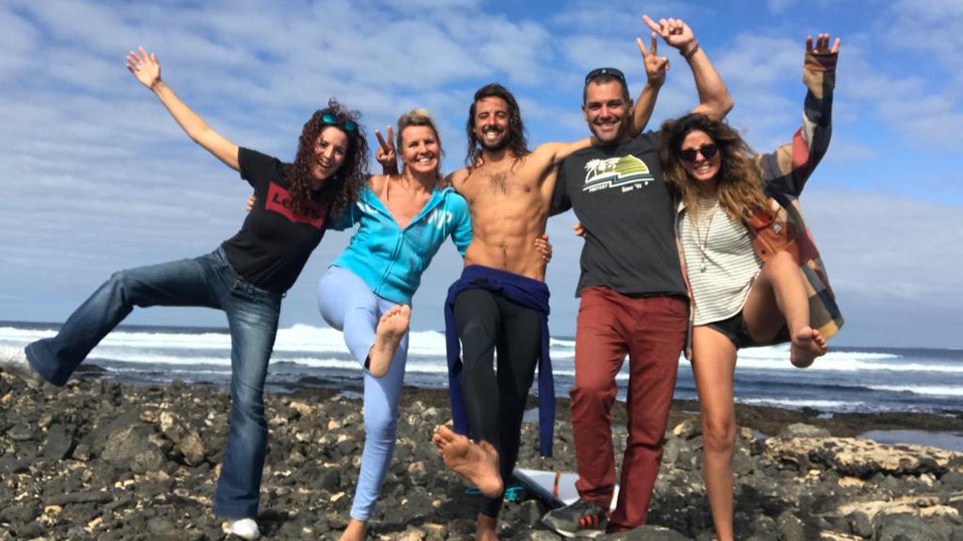 Alvaro Vizcaíno surfer español