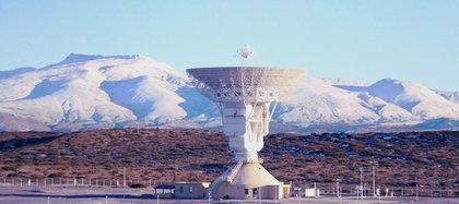 El observatorio chino en la provincia de Neuquén