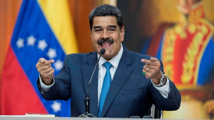 Nicolás Maduro dijo que está listo para un diálogo con Donald Trump (EFE/ Rayner Pena)