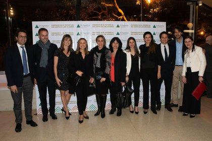 El equipo de Junior Achievement Argentina con sedes en distintas provincias