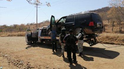 Fuerzas armadas repelieron ataques del CJNG con helicóptero Black Hawk en Jalisco (Foto: SSP Michoacán)