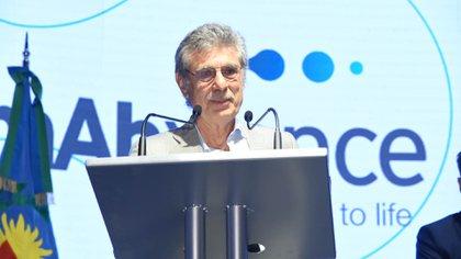 Hugo Sigman, director ejecutivo del laboratorio argentino mAbxience