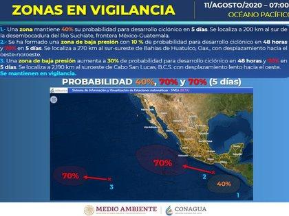(Foto: Servicio Meteorológico Nacional/Conagua Clima)