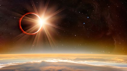 El eclipse solar total ocurrirá en Argentina y Chile el 2 de julio de 2019 (Shutterstock)