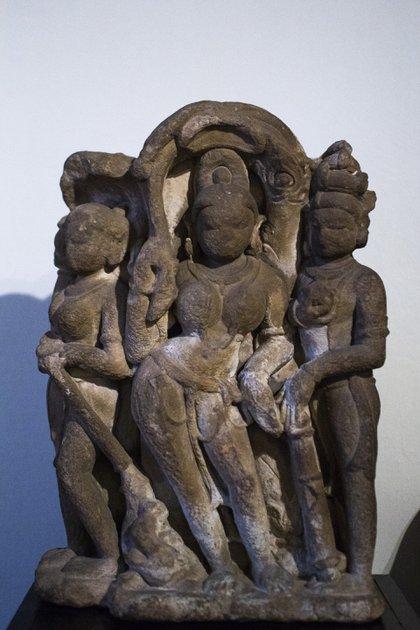 Ganga, India, del siglo XII (Florencia Pouli)