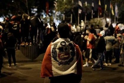 Sagasti asume la presidencia en medio de una de las peores crisis políticas de Perú (REUTERS/Angela Ponce)