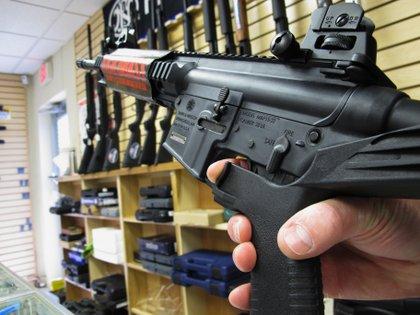 Una tienda de armas en Carolina del Norte (AP)