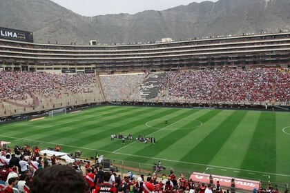 Foto de archivo ilustrativa del Estadio Monumental de Lima.  Nov 23, 2019   REUTERS/Henry Romero