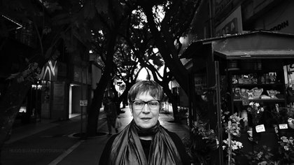 María Teresa Andruetto (Foto: Hugo Suárez)