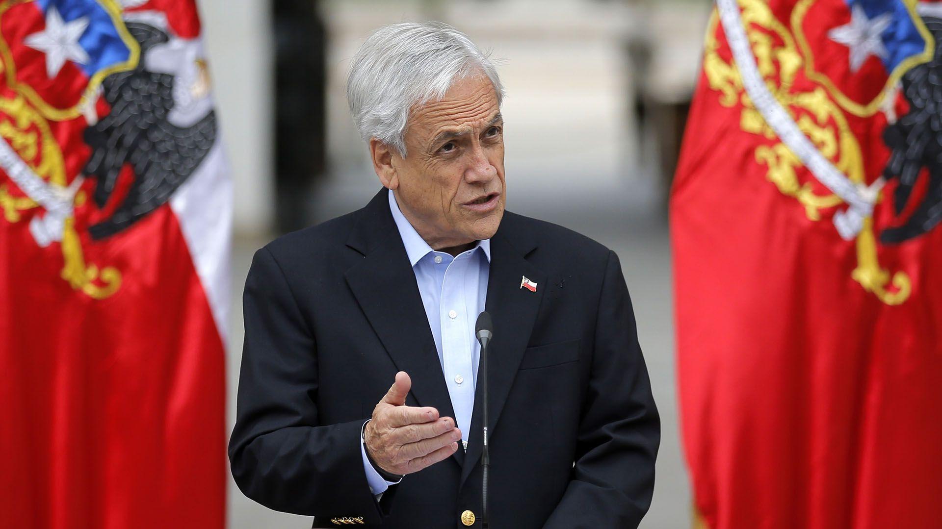 Sebastian Piñera, presidente de Chile desde marzo de 2018 (Photo by Pedro Lopez / AFP)