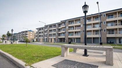 Uno de los desarrollos urbanos de Procrear en el partido de Tigre
