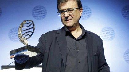 """En 2019, Javier Cercas obtuvo el Premio Planeta de Novela con """"Terra Alta"""". Esa novela se convirtió en la primera de una serie que tendrá cuatro o cinco entregas (EFE/Andreu Dalmau)"""