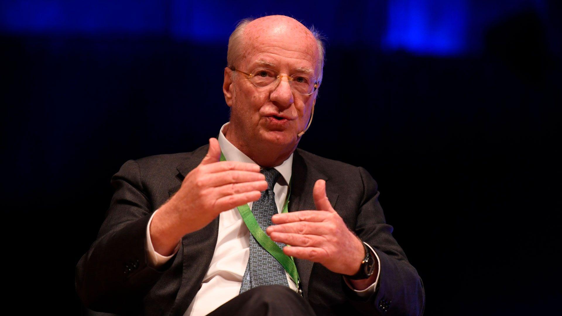 El presidente de Techint, Paolo Rocca
