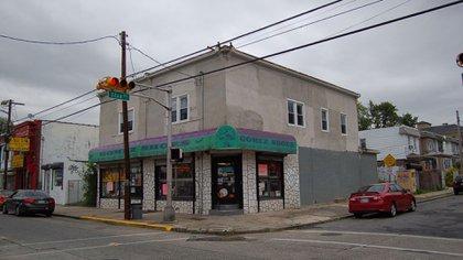 La esquina donde vivía Howard Unruh, en la ciudad de Camden, estado de Nueva Jersey