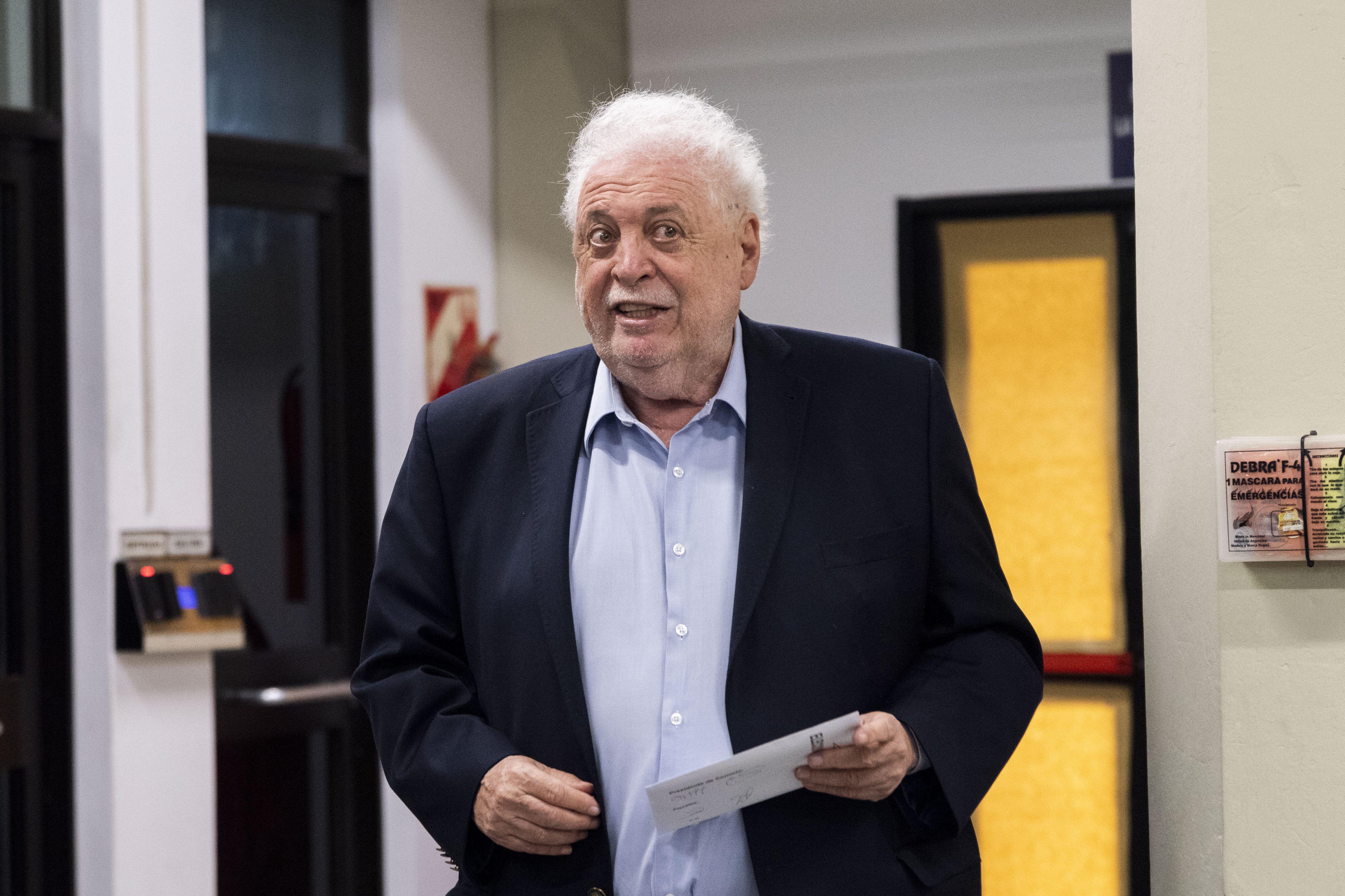 El ex ministro de Salud, Ginés González García. Tuvo que renunciar tras el escándalo (Zumapress/Contactophoto)