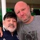 Mariano Israelit y Diego Maradona (Foto: Instagram)