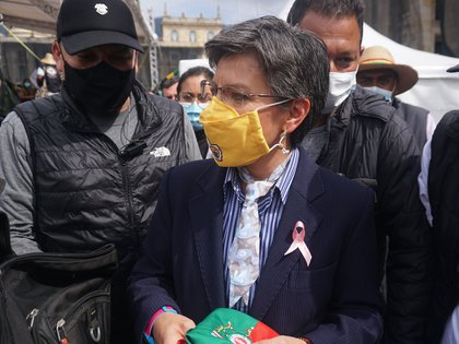 06/03/2021 La alcaldesa de Bogotá, Claudia López POLITICA SUDAMÉRICA COLOMBIA DANIEL GARZON HERAZO / ZUMA PRESS / CONTACTOPHOTO