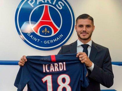 Mauro Icardi se convirtió en nuevo refuerzo del PSG