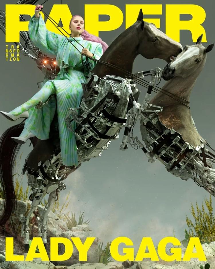 El 10 de abril, presentará su nuevo disco, Chromatica (Paper Magazine)
