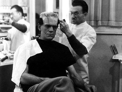 Boris Karloff y Jack Pierce