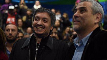 Máximo Kirchner con Jorge Ferraresi
