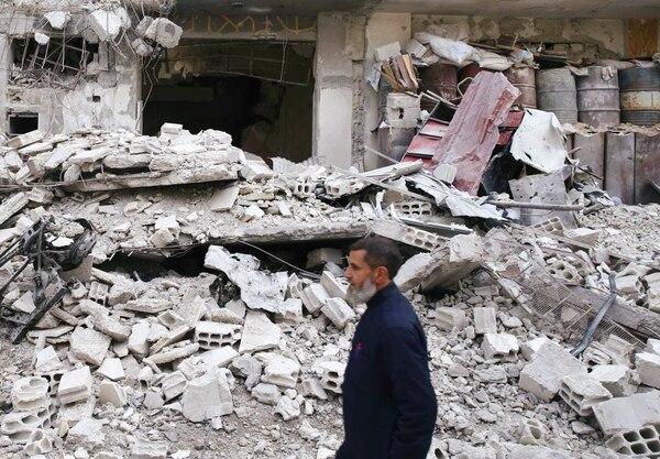 En apenas 10 días ya son 600 los civiles muertos en Guta (REUTERS)