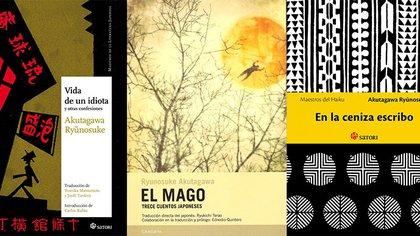 Algunos de los pocos libros que se pueden conseguir en español