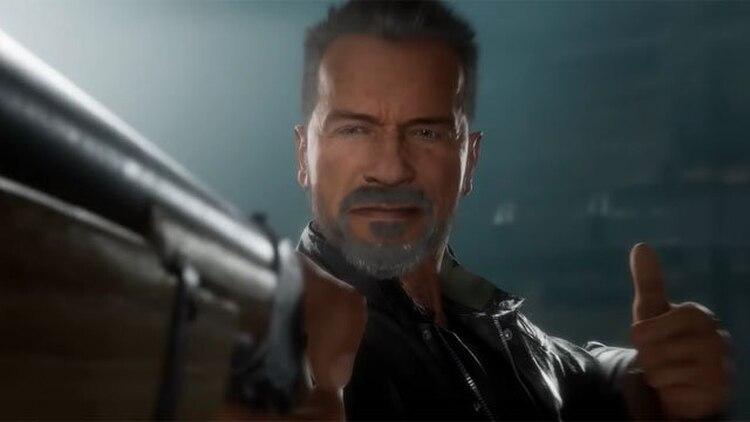 Terminator en Mortal Kombat 11.