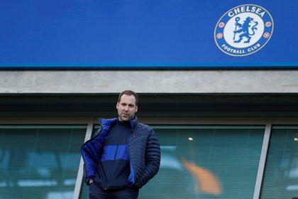 Cech es parte del cuerpo técnico de Lampard en el Chelsea (Reuters)