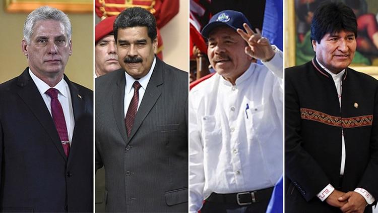 Resultado de imagen para Bolivia, Nicaragua y Cuba