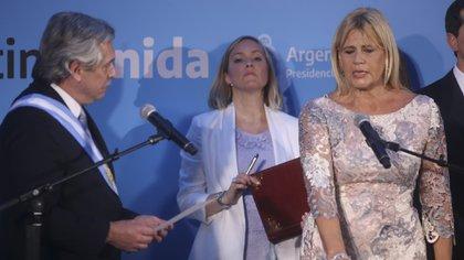 Foto archivo: Marcela Losardo jura como ministra de Justicia (NA: MARIANO SANCHEZ)