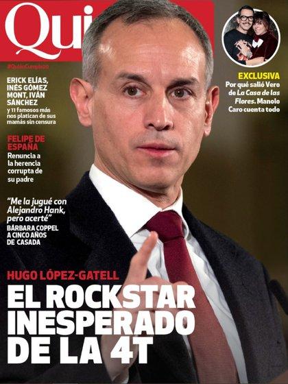 López-Gatell, en la portada de la revista Quién
