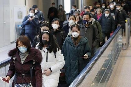 Turistas chinos arriban a Japón (Reuters)