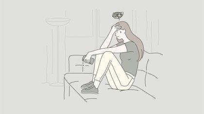 El aislamiento social afecta a muchas mujeres, pero si comparten el encierro con un maltratador puede incrementar el peligro sobre su vida (Shutterstock).