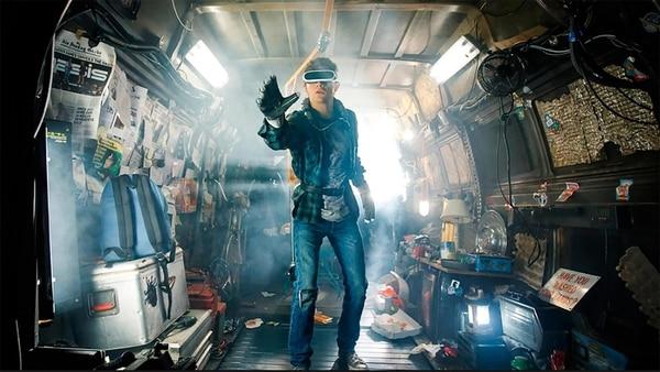 Una de las escenas de Ready Player One, el nuevo film de Spielberg