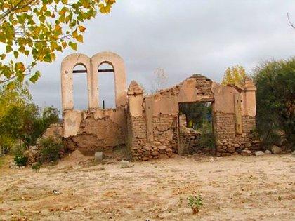 El Oratorio de Villafañe en Aminga, La Rioja