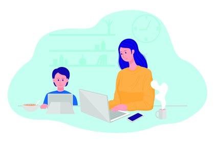 El teletrabajo funciona como herramienta siempre y cuando genere una mejora en la calidad de vida (Shutterstock)