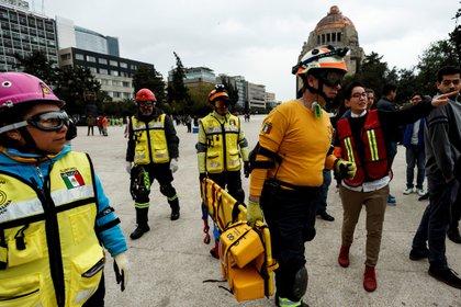 Ante el contexto, el gobierno capitalino canceló el megasimulacro (Foto: EFE/José Méndez)