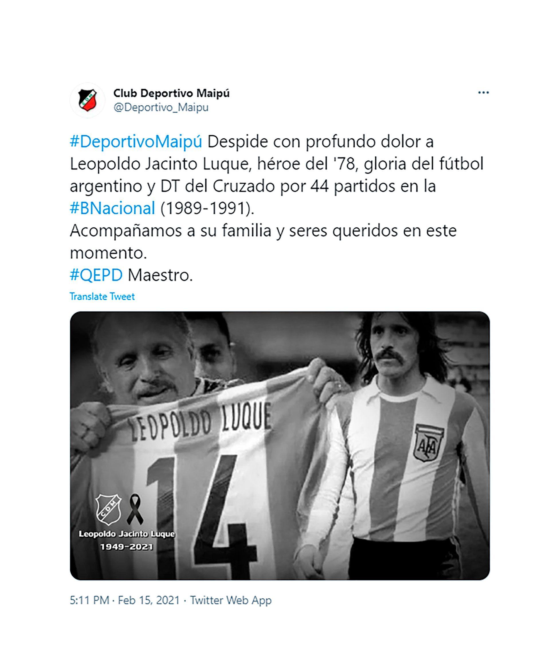mensajes Leopoldo Jacinto Luque