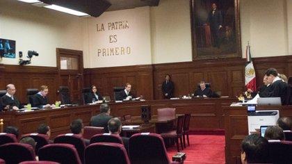 El Pleno de la Corte determinará si la pregunta conjugada por el presidente López Obrador es constitucional o no (Foto: Cuartoscuro)
