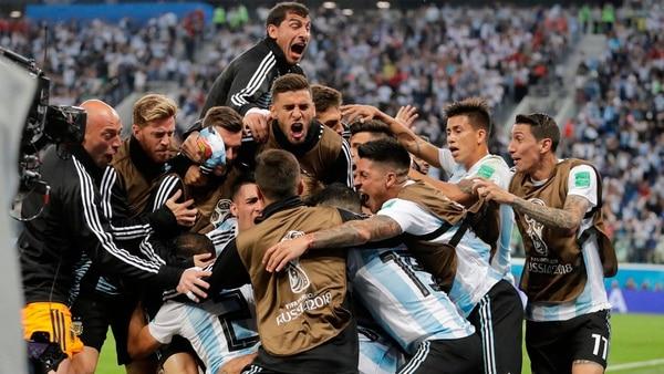 Resultado de imagen para argentina nigeria triunfo