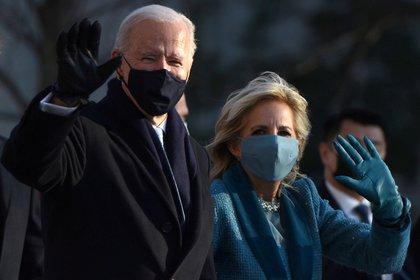 Joe Biden y Jill Biden (REUTERS/Callaghan O'Hare)